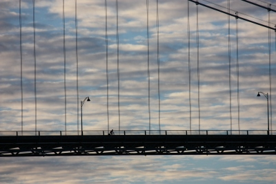 Solitude on Lions Gate Bridge
