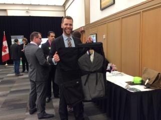 Reid in Ottawa representing Futurpreneur