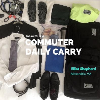 Elliot Shepherd's daily carry