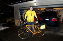 Adrian Glover - Winner of the Bike to Work Contest