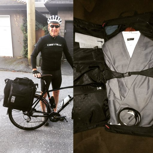 Its in the bag - Commuter split screen