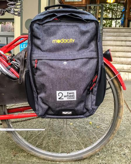 Modacity Cobranded Pannier Backpack