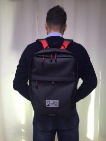 Anton Wearing Two Wheel Gear Backpack 2