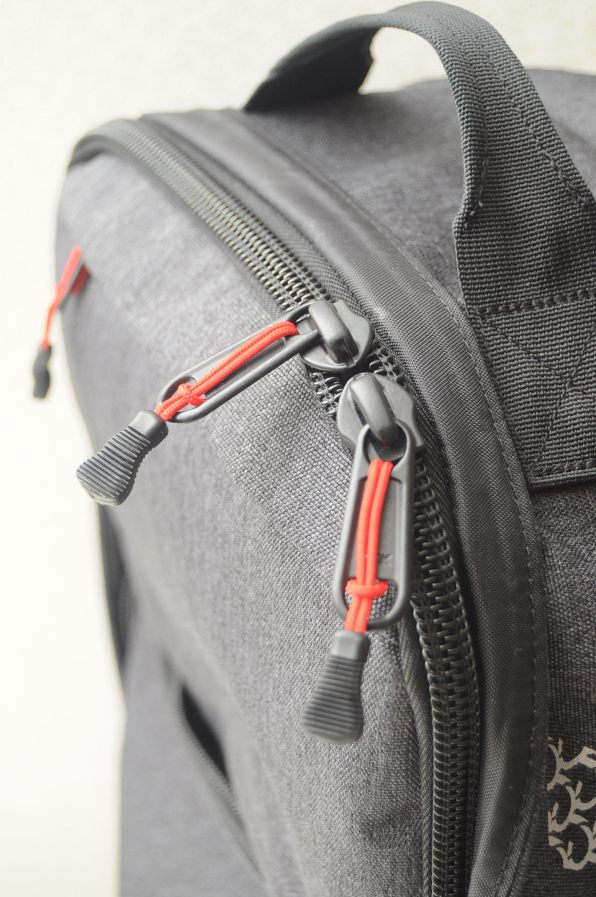 Pannier Backpack Folded Back