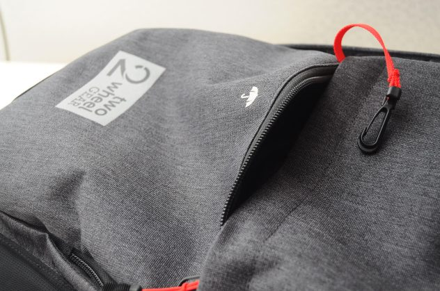 Pannier Backpack Outer Close Up