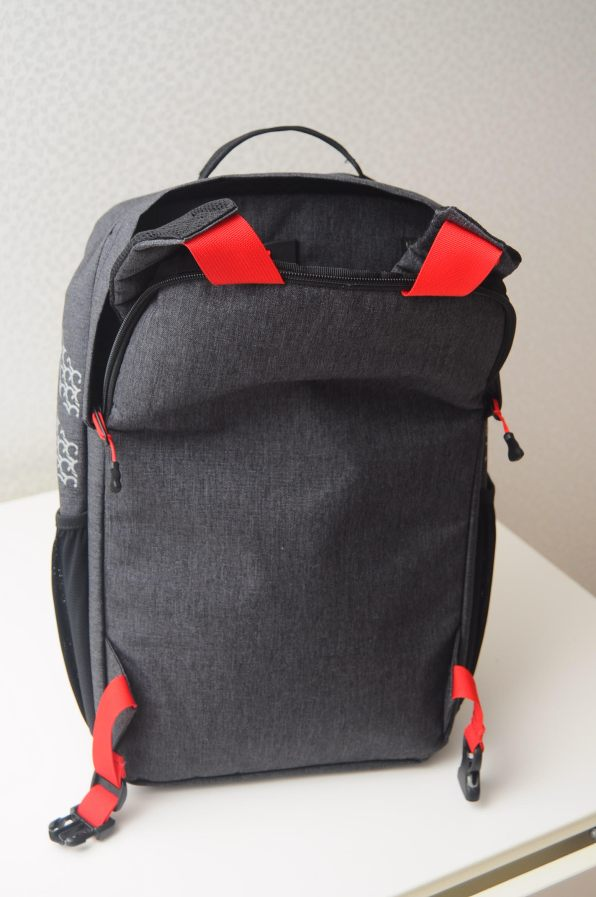 Pannier Backpack Straps Tucked