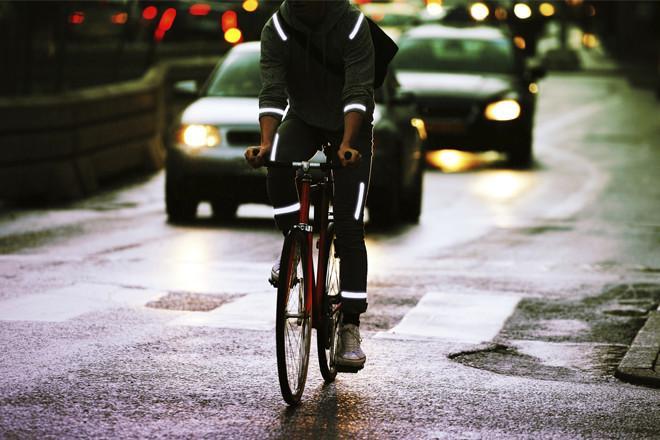 Brilliant Reflective Strips for Biking