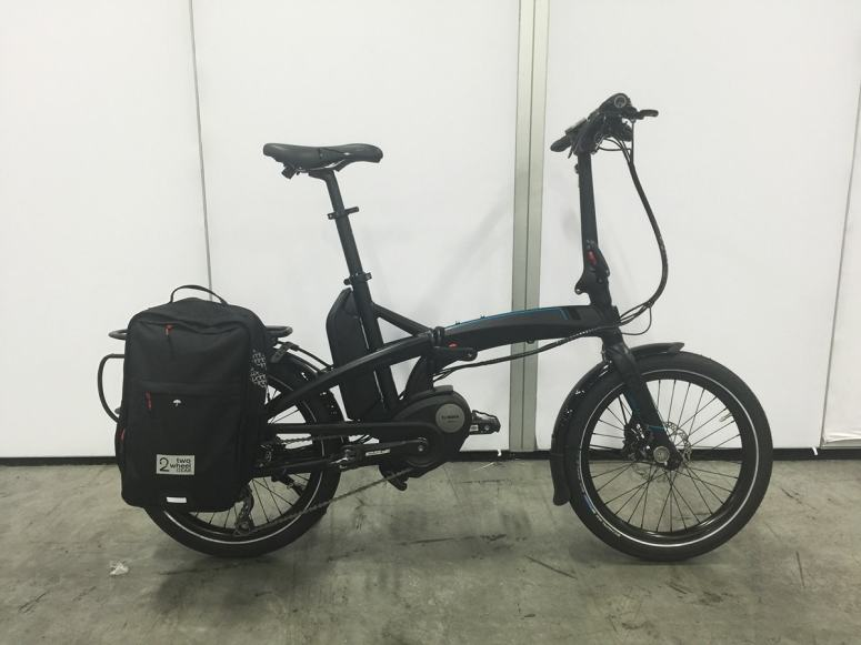 Tern Vektron Folding Bike with Two Wheel Gear Bag