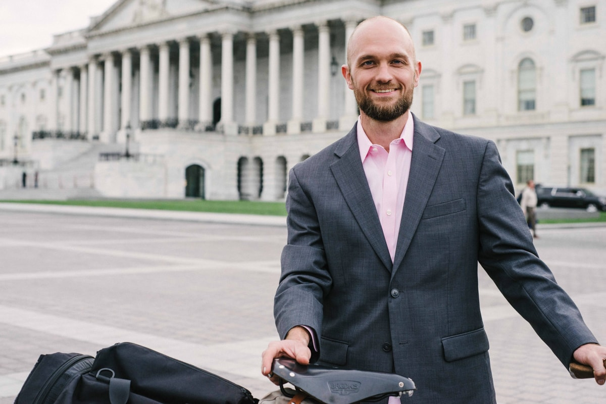 Two Wheel Gear Ambassador - Adam Godet in Washington, D.C.