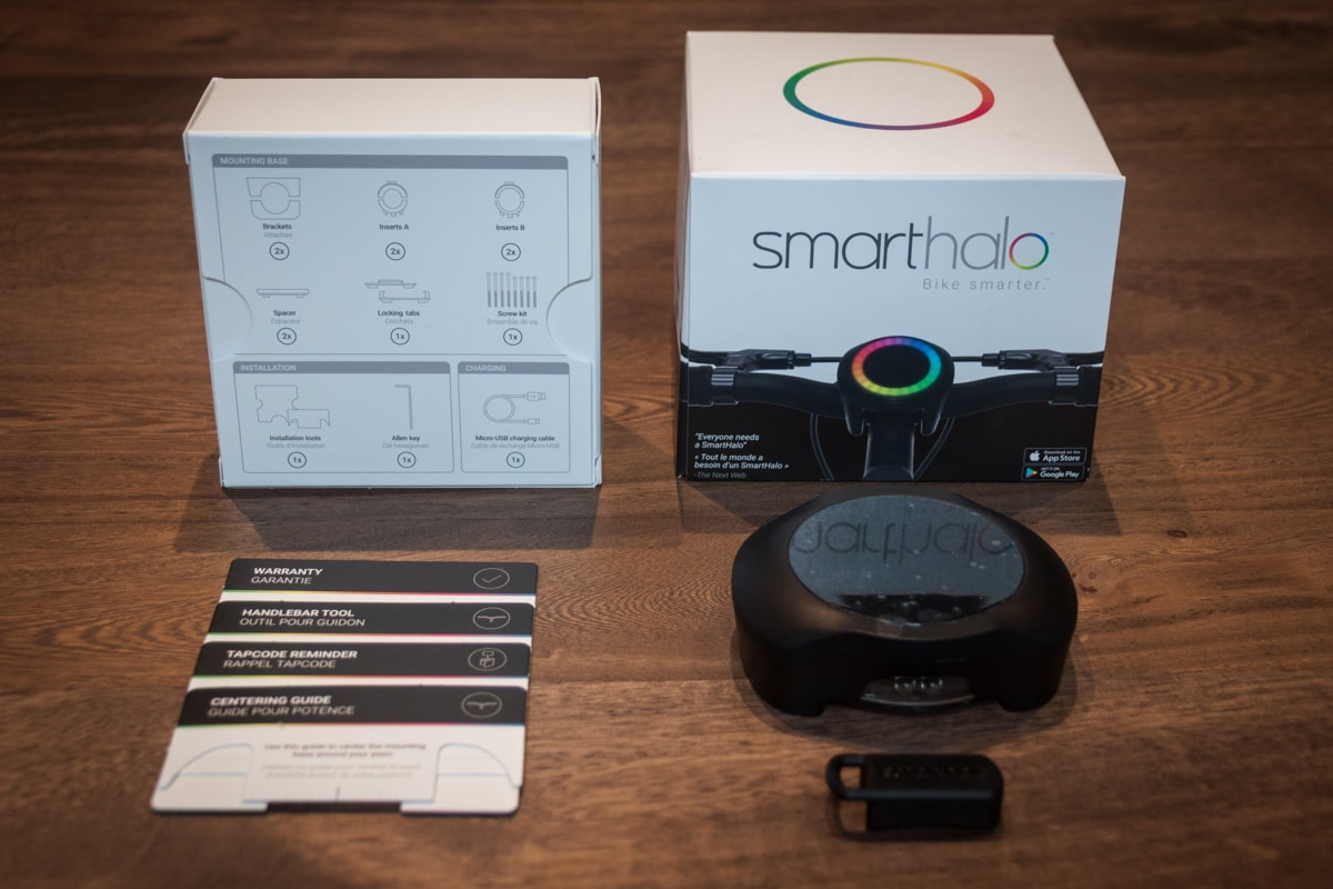 Smart Halo Unboxing Two Wheel Gear 2
