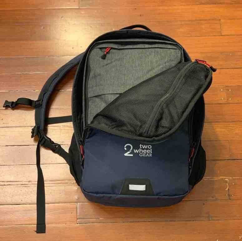 Two Wheel Gear - Pannier Backpack PLUS+ - Inside Capacity