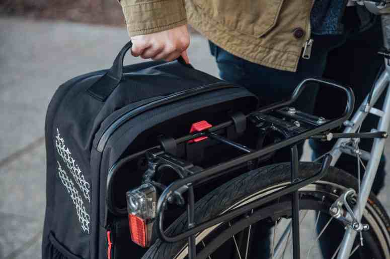 Two Wheel Gear - Pannier Mounting System on Pannier Backpack Convertible PLUS+