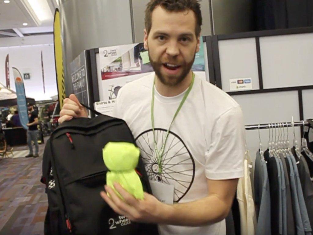 Two Wheel Gear - Reid Hemsing - Pannier Backpack PLUS+ - Rain Cover
