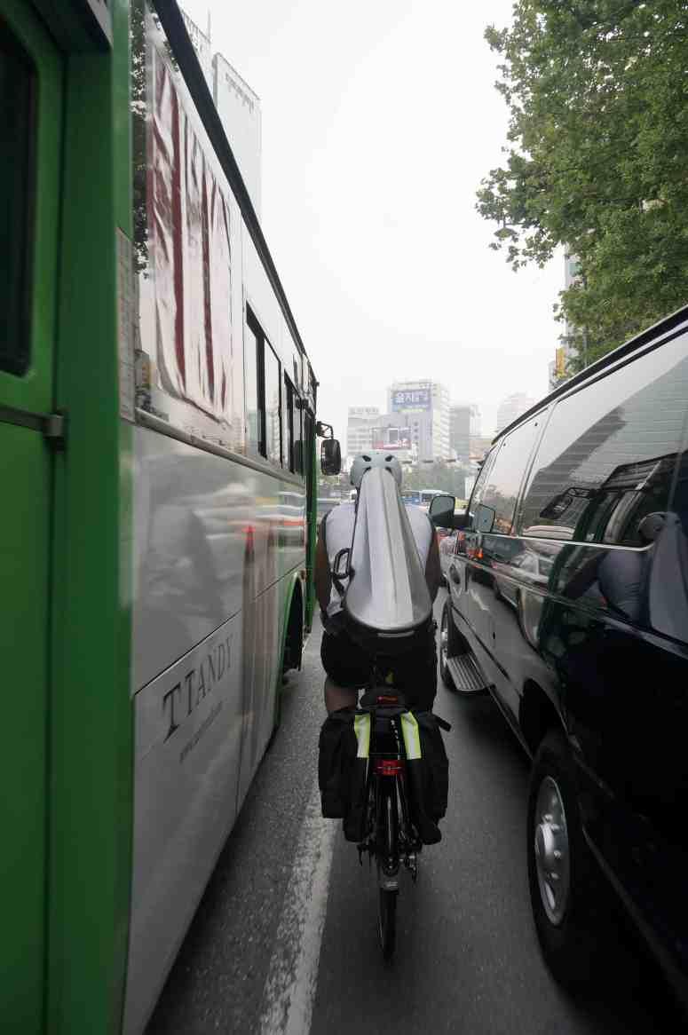 Two Wheel Gear Ambassador Anton Kang in Seoul, South Korea