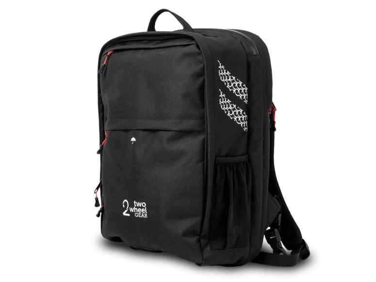 Two Wheel Gear - Pannier Backpack Convertible PLUS+ in Black