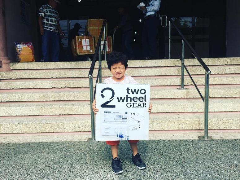 Two Wheel Gear - Aldrin - First Bike Commuter in the Philippines