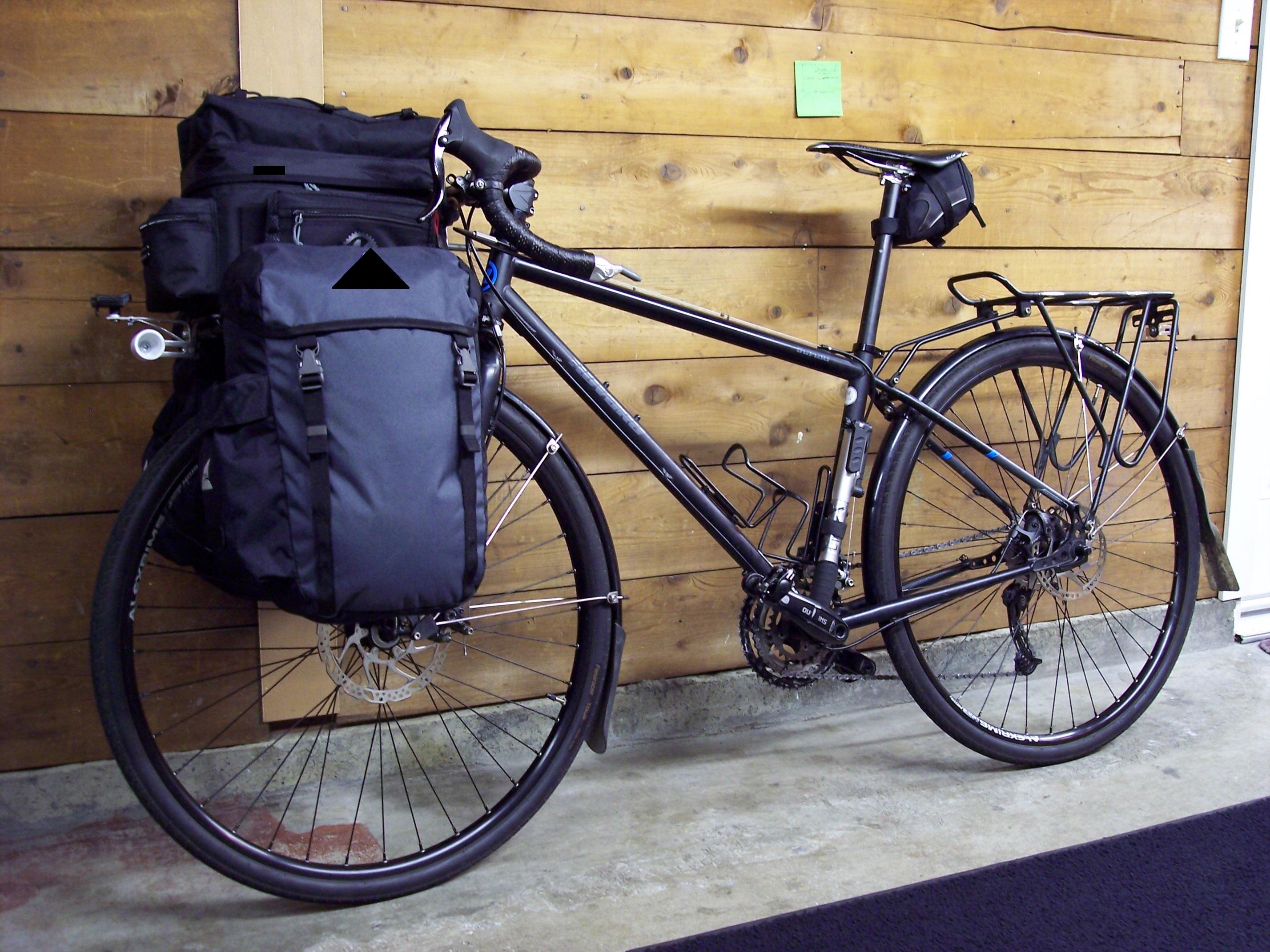 Eric Abbott - Commuter bike set up