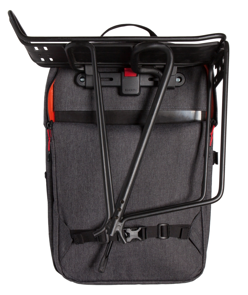 Two Wheel Gear - Pannier Backpack Convertible - Mounted on Rack