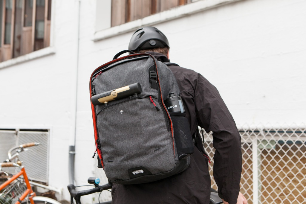 Two Wheel Gear - Pannier Backpack PLUS on Back