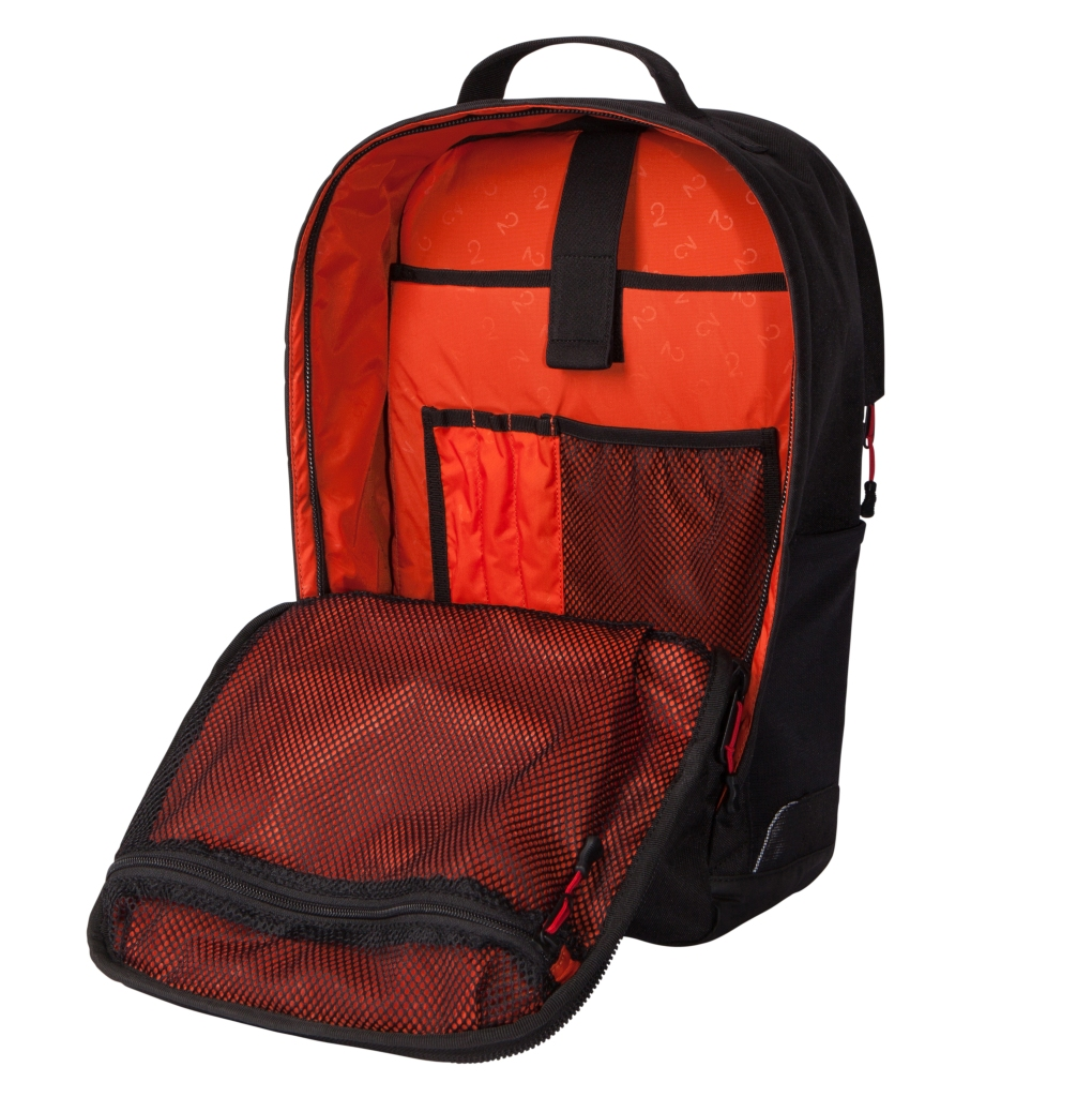 Two Wheel Gear - Pannier Backpack - Inside - bright liner