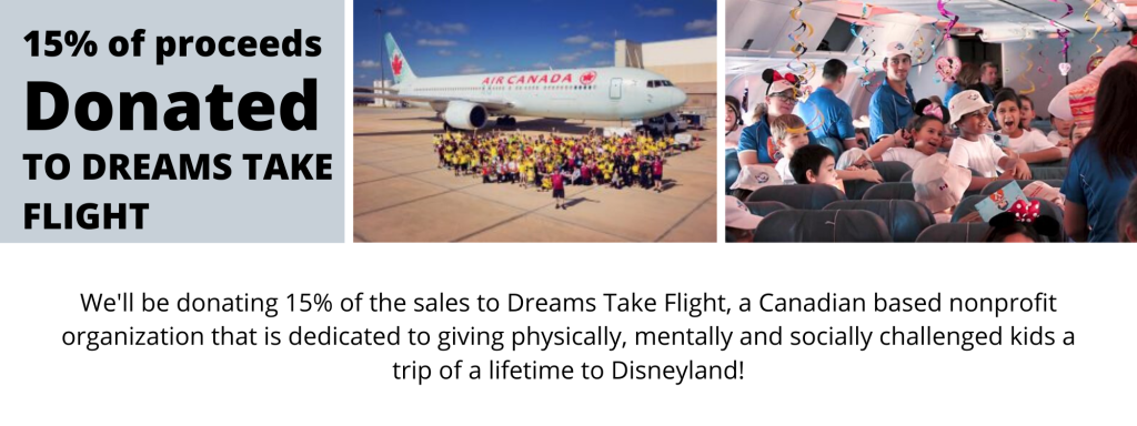 Two Wheel Gear Donates to Dreams Take Flight