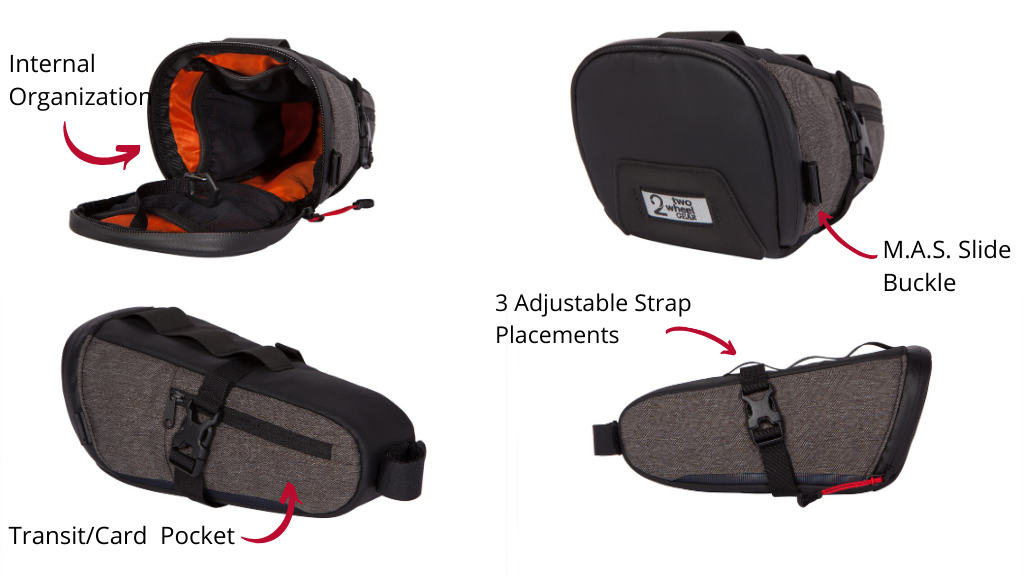 Two Wheel Gear - Seat Pack