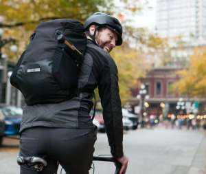 Two Wheel Gear - Commute Backpack - Black - Reid Hemsing
