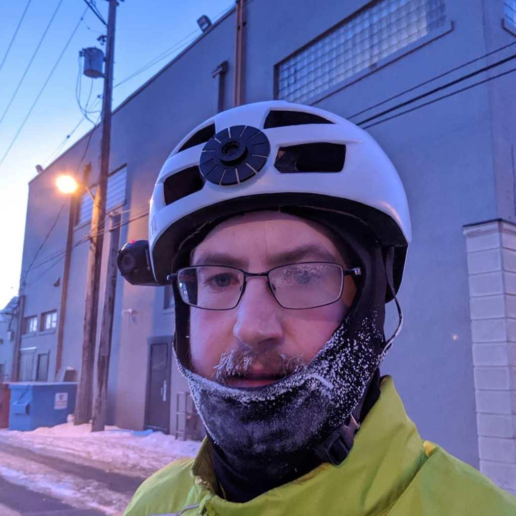 Bike Commuter Frontline Worker - Zack MacGregor